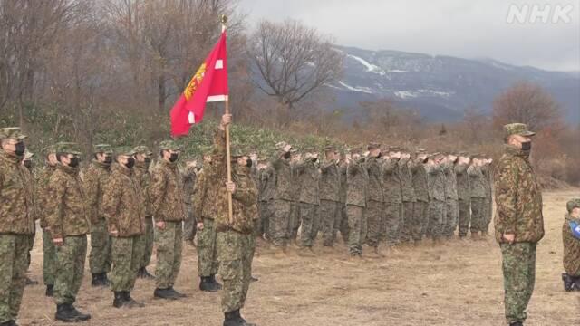 """陸上自衛隊と米海兵隊 共同訓練始まる 米側""""コロナ対策""""強調"""