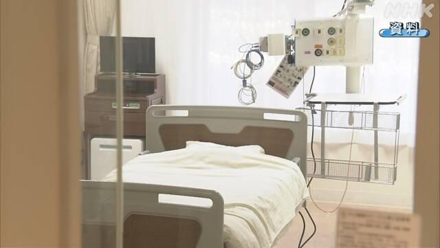新型コロナ 病床の使用率 東京や神奈川では80%超える
