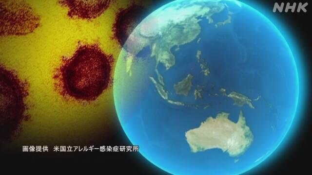 新型コロナ 世界の感染者1億1395万人(1日午前3時)