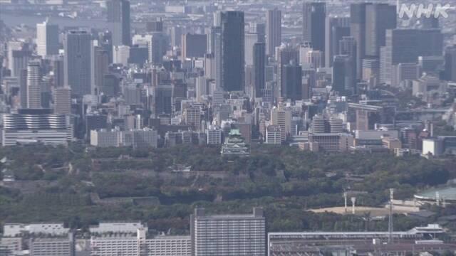 大阪府 感染確認1000人超 新たな対策検討で緊急会議 開催へ