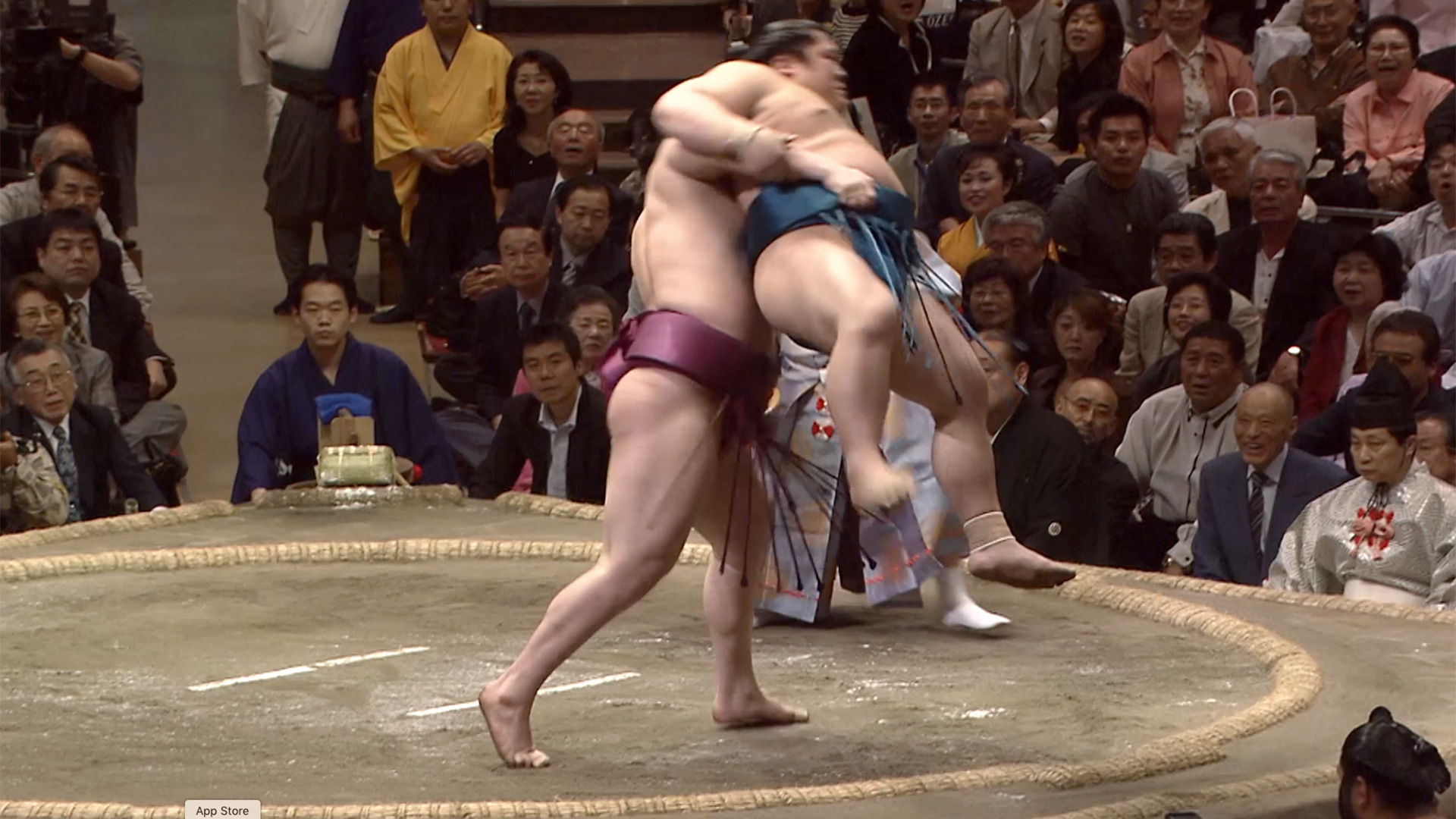 Okuri-tsuriotoshi/ Rear lifting body slam