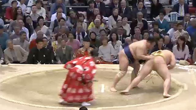 Oshitaoshi/ Frontal push down