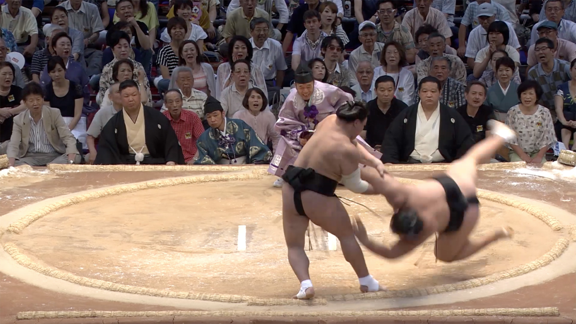 Amiuchi/The fishermans throw
