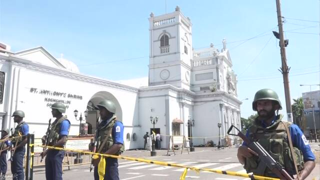 スリランカでテロ 6つの場所の爆発で200人以上が亡くなる