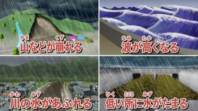 台風が九州の近くに来る 強い風や雨に気をつけて