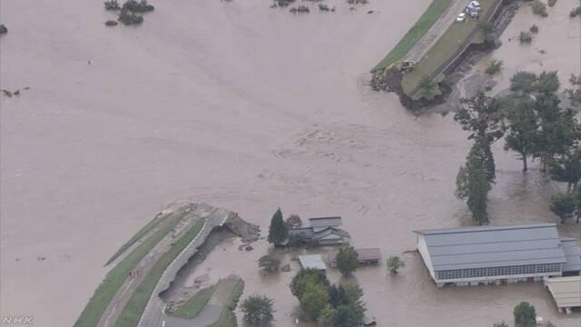 台風19号で大きな被害 74人が亡くなる