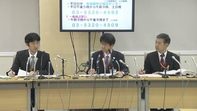 """""""屋形船で感染拡大か"""" 新型ウイルス 東京で新たに5人感染"""