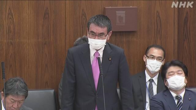 防衛相「専門用語 より分かりやすい日本語で」新型コロナ