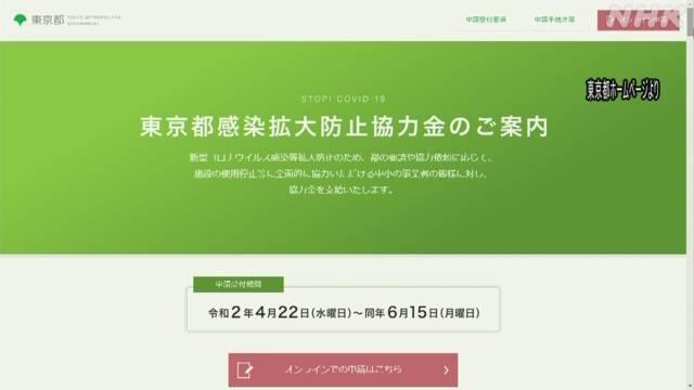 Photo of 東京都 「協力金」申請の受け付け始まる 新型コロナ | NHKニュース | NHK NEWS WEB