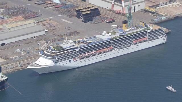 イタリア クルーズ 船 コロナ