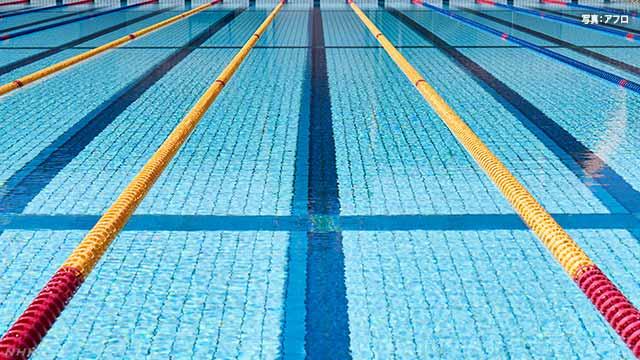 小学生~高校生対象の競泳大会を9月に 水泳連盟 新型コロナ