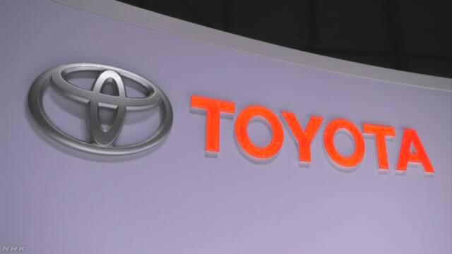 トヨタ自動車 国内全工場で6月は4日間稼働停止へ コロナ影響