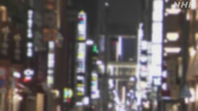 夜の街 飲食業関連のコロナ感染者増加 全体の3割に 東京