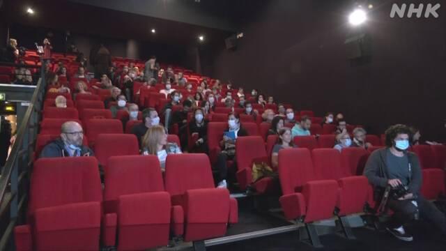 映画大国フランス 3か月ぶり映画館が再開 新型コロナ | NHKニュース