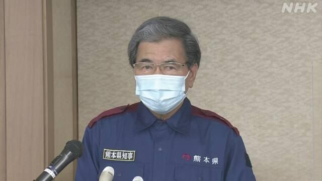 取材カメラマンが感染 熊本県知事「非常に残念 対策徹底を」