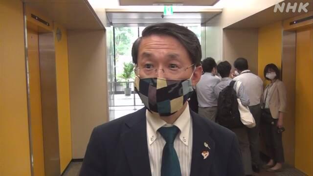 鳥取 平井知事「国民の思いとかい離ないよう議論を」