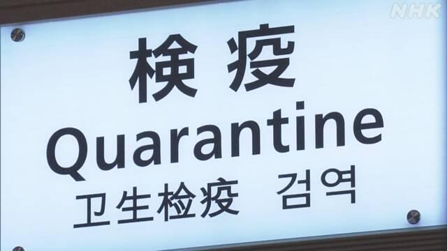 空港検疫 新たに男女6人 新型コロナ感染確認 | NHKニュース