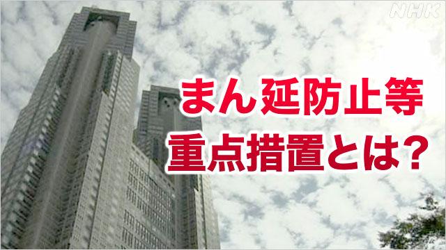 東京も「まん延防止等重点措置」要請 緊急事態宣言との違いは | 新型 ...