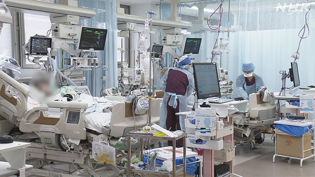 2021年4月 病院の様子