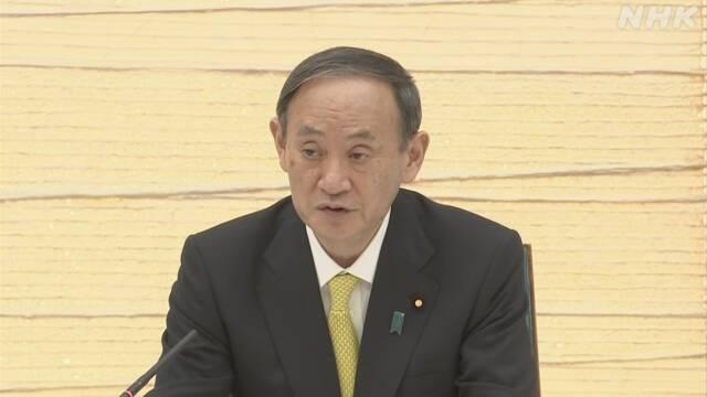 菅首相 高齢者ワクチン接種 7月末終了に向け自治体支援へ