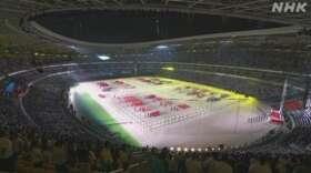 北京五輪控え中国で4年に一度 スポーツ大会 開会式に4万6000人