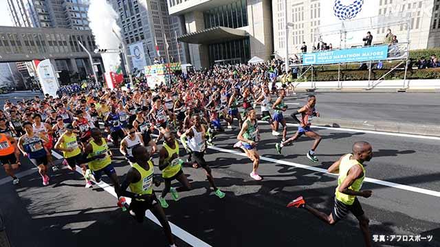 来月予定の東京マラソン 中止の見通し