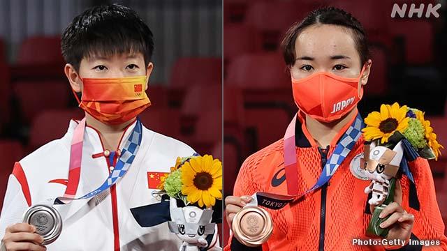 オリンピック 伊藤美誠と孫穎莎 2人のライバル物語