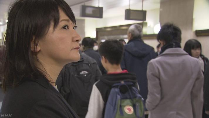 東京駅の中心で、2列乗りを叫ぶ