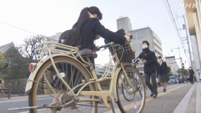"""歩道での""""自転車の危ない""""をなくしたい"""