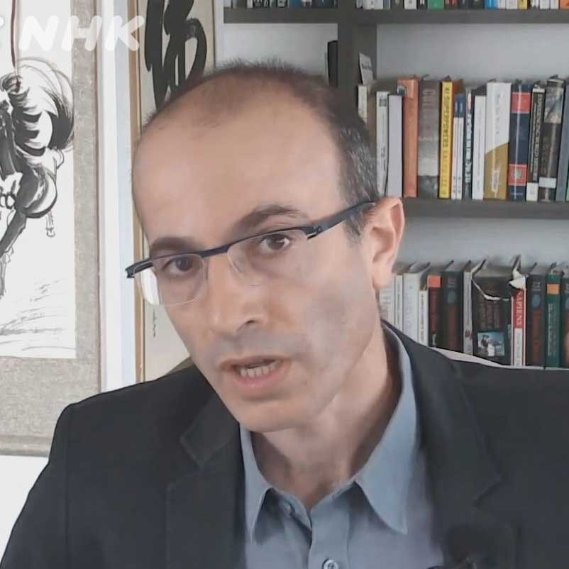 """It's up to us. We choose how this pandemic will end."": An interview with Yuval Noah Harari."