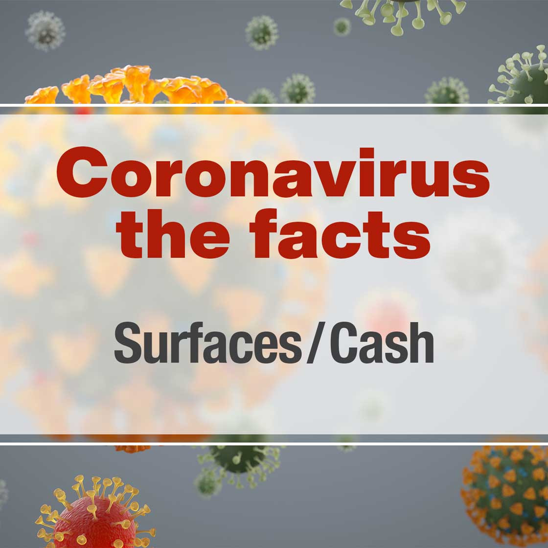 How long can the virus survive on surfaces?
