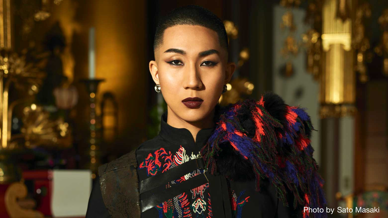 Makeup artist monk teaches tolerance of sexual diversity