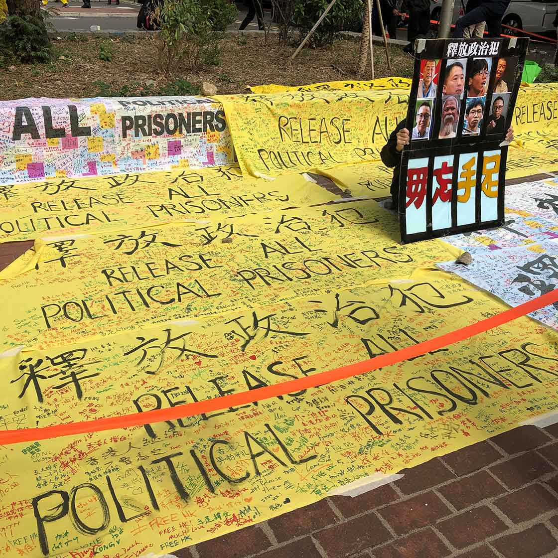 The uphill battle facing Hong Kong's 47 detained activists