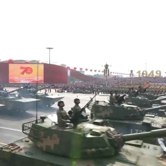 China: Messages in the military parade