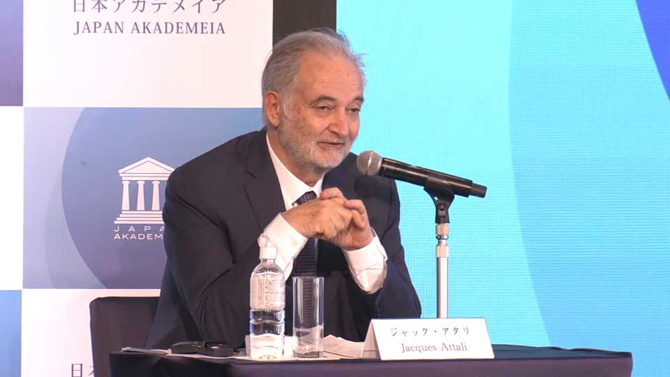 Jacques Attali in Tokyo