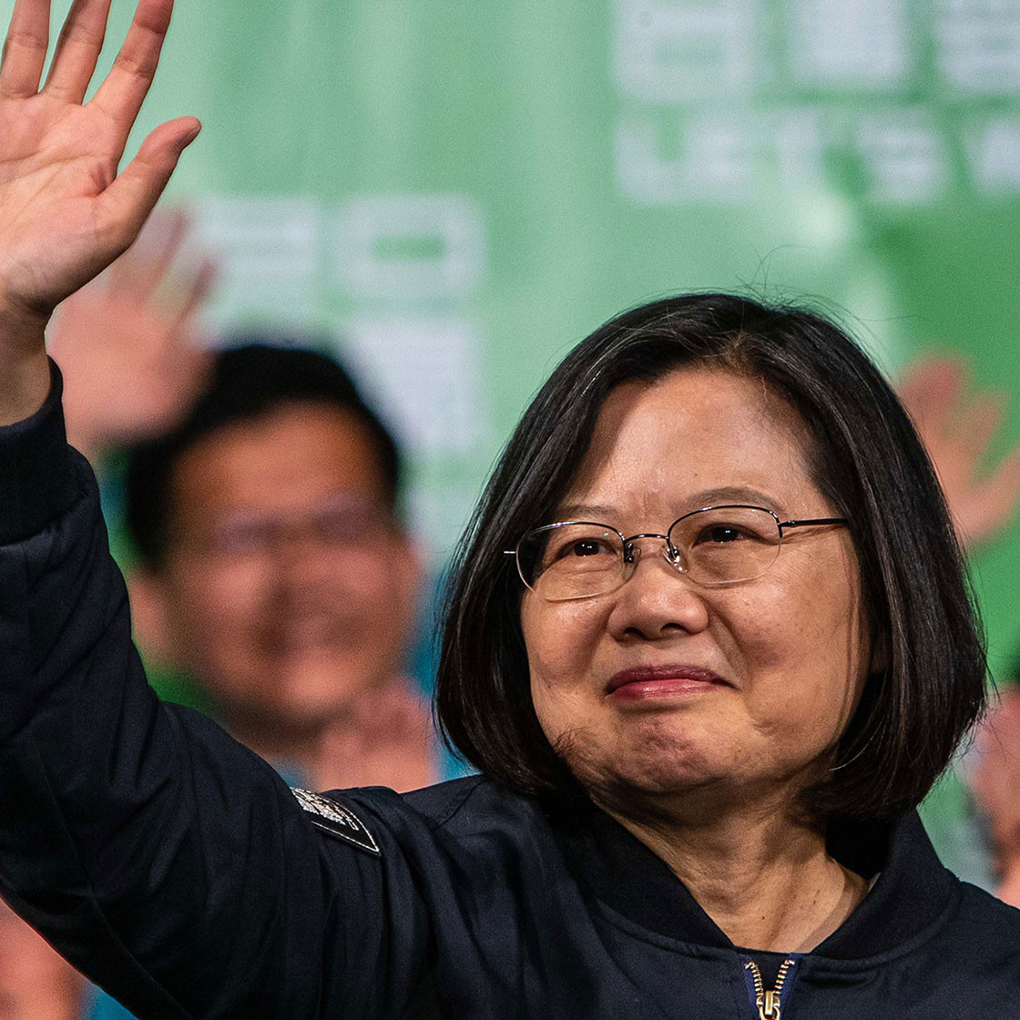 Taiwan's voters back Tsai's tough stance on China