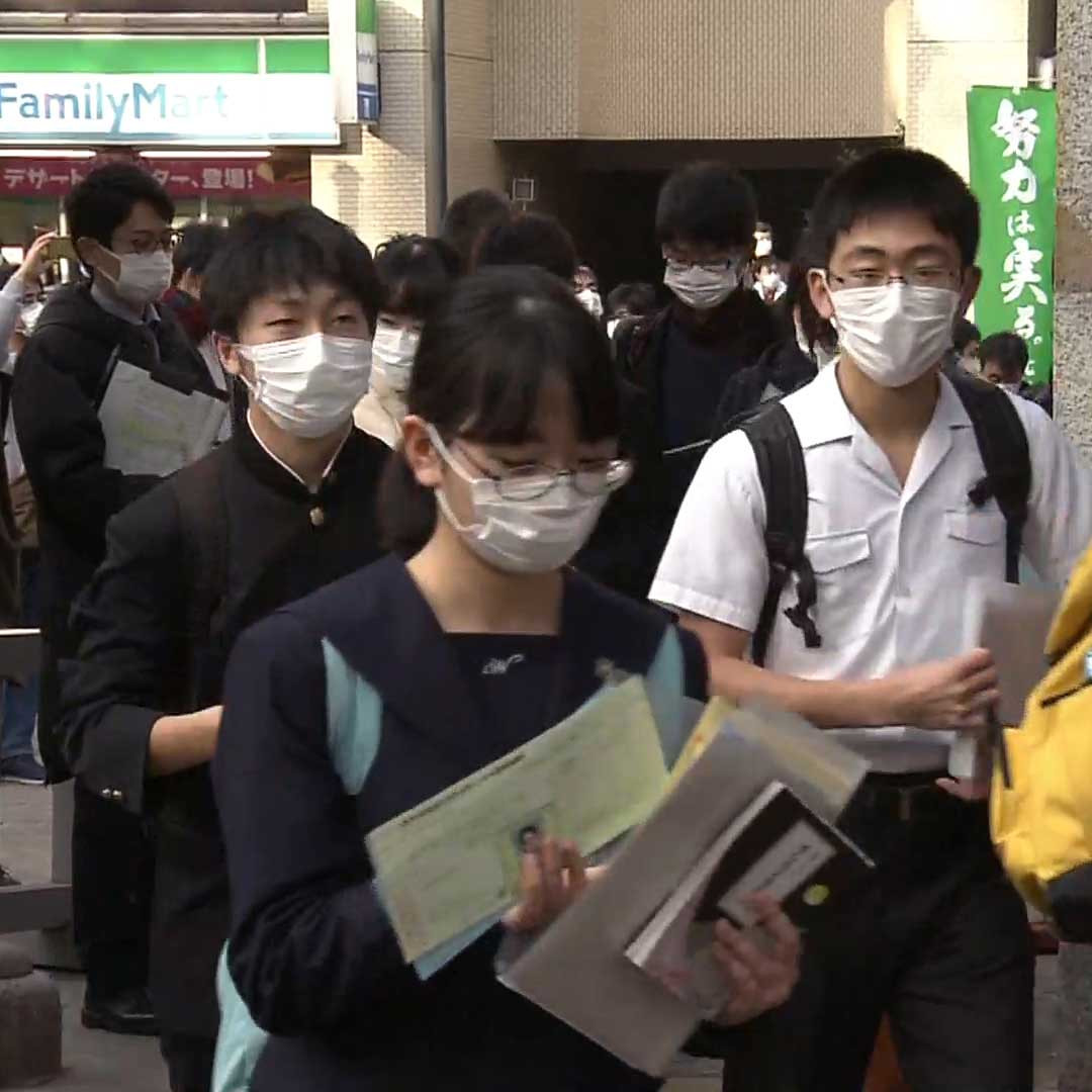 New Coronavirus impact spreads throughout Japan