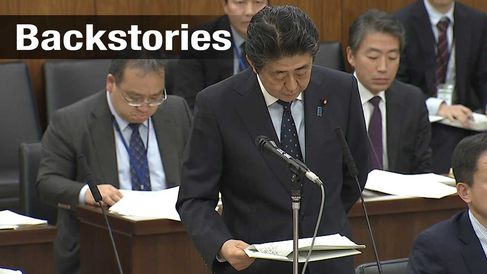 Suicide note revives an Abe administration scandal