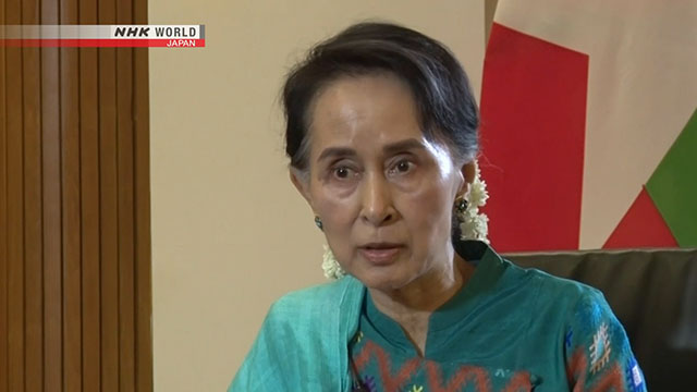 Exclusive: Interview with Aung San Suu Kyi