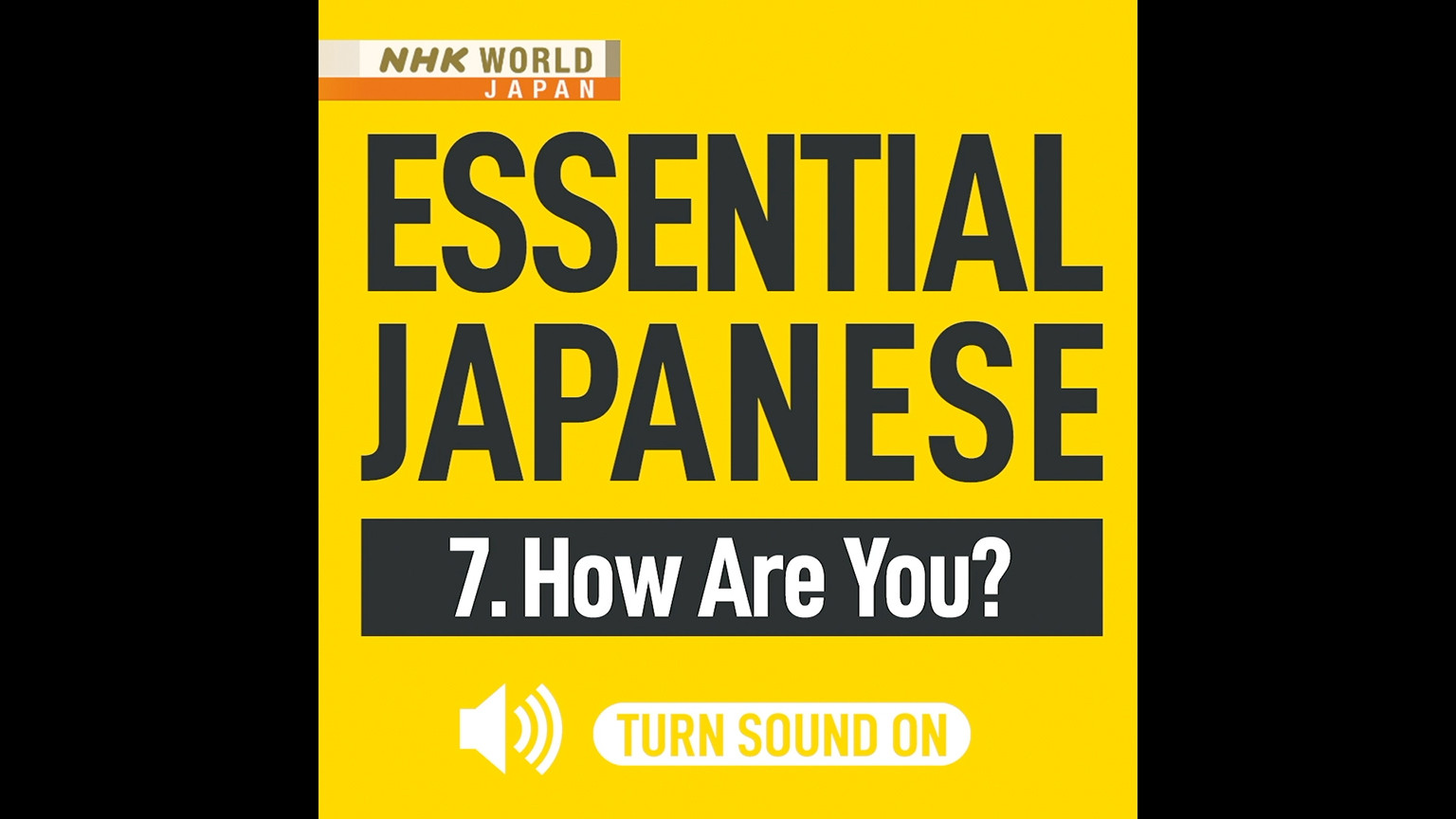 News japanese language in nhk