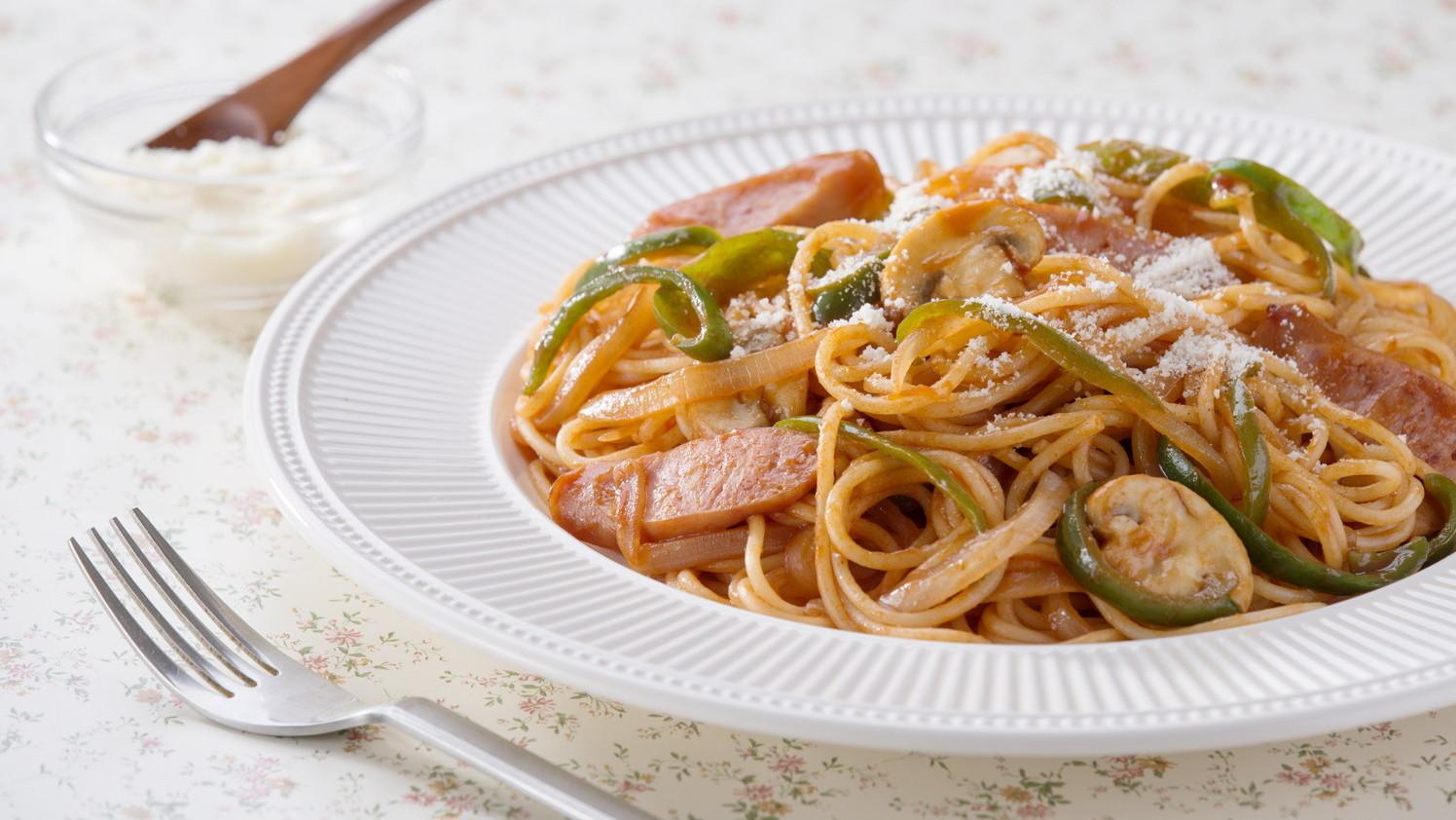 Spageti Napolitan Ayo Masak Makanan Jepang Nhk World Radio Jepang