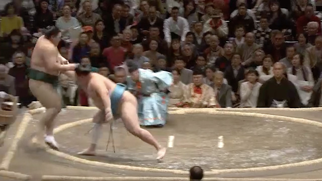Oshidashi/ Frontal push out