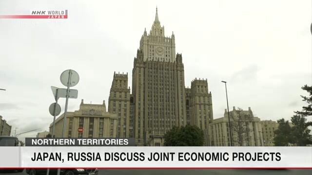 Japan, Russia discuss joint economic activity