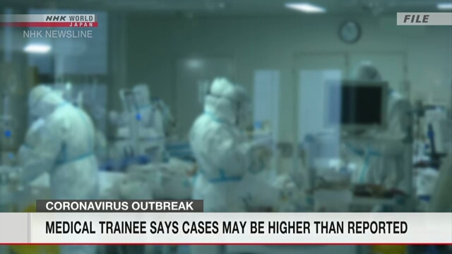 Medical workers may have been infected early Jan.