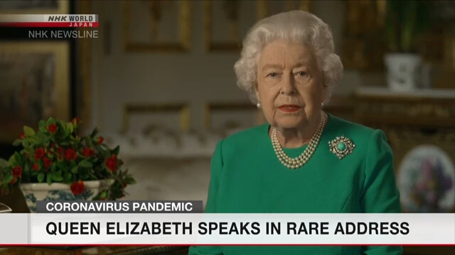 Queen Elizabeth: We can overcome coronavirus