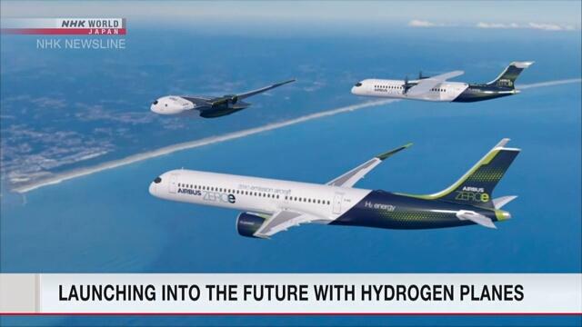 Airbus to develop zero-emission hydrogen planes