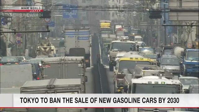Tokyo to ban the sale of new gasoline cars by 2030
