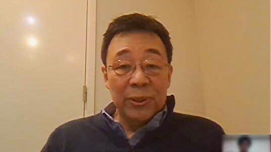Ông Mano Toshiki, bác sĩ đồng thời là giáo sư Đại học Chuo
