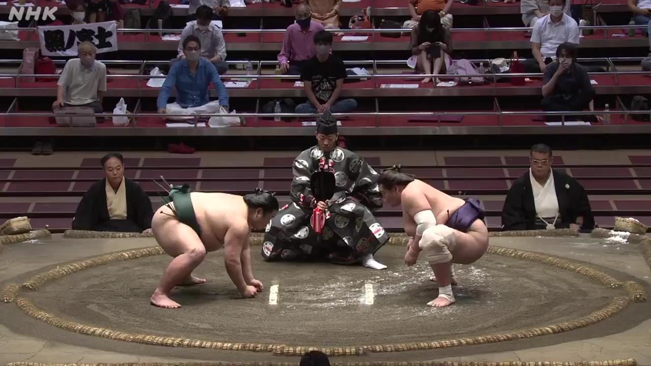 八日目:錦 木 - 照ノ富士