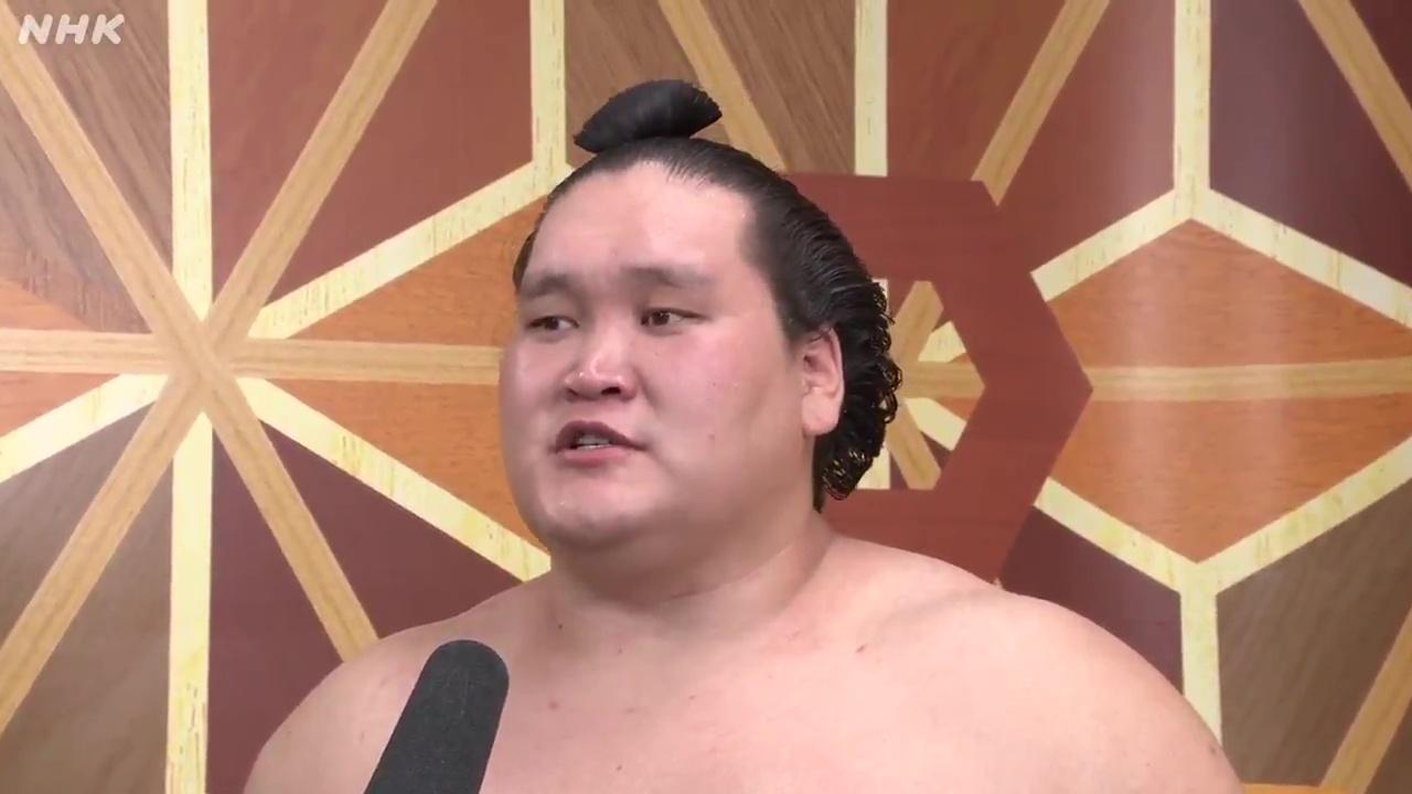 照ノ富士 優勝インタビュー